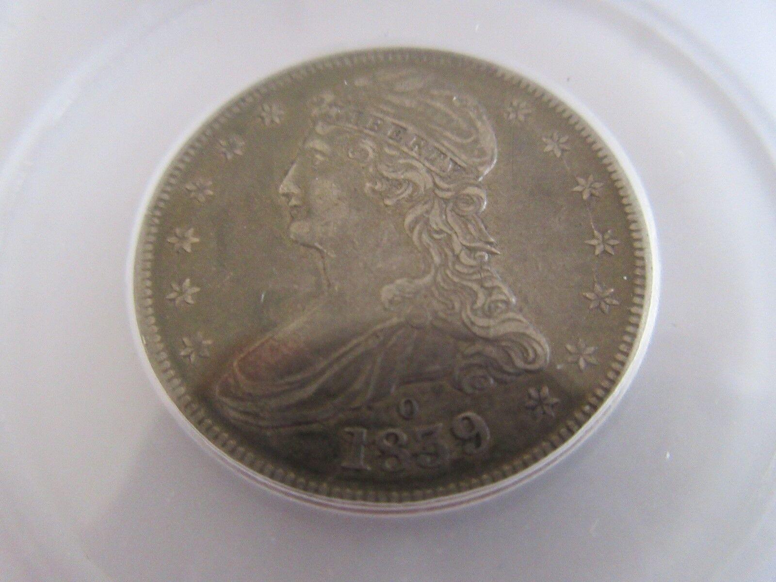 1839-O 50C Capped Bust Half Dollar