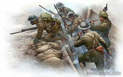 "Master Box 35114 ""British Infantry before the Attack""  Scale 1/35"