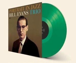 Bill-Evans-Portrait-In-Jazz-New-Vinyl-LP-Bonus-Track-Colored-Vinyl-Green