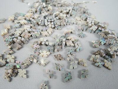"""Inlay 5 pcs diamond shape 0.22""""x0.33""""abalone shell blanks diamond cut"""