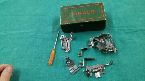 Vtg Singer Attachments 160359 1261 36865 +