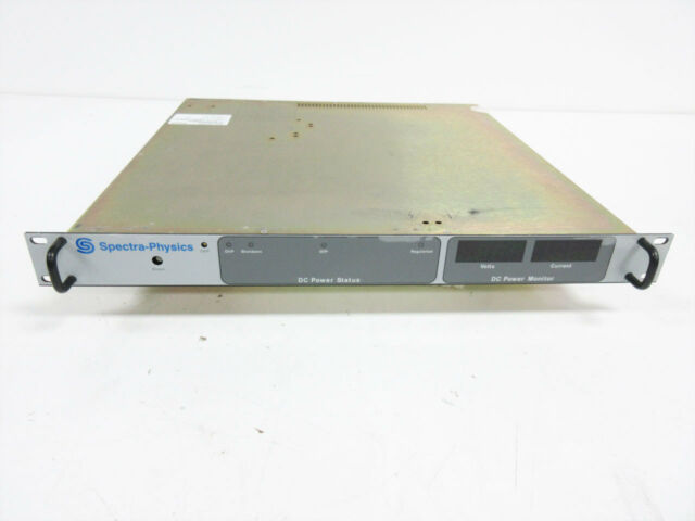 SPECTRA PHYSICS DCS20-50E DC POWER SUPPLY 20V @ 50A W M45 ~ SORENSEN XANTREX