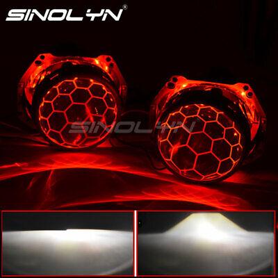 3.0/'/' D1S D2S D3S HID Bi-xenon Projector Blue Lens Headlight Soccer Demon Eyes