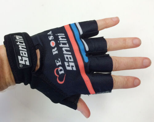 De Rosa Summer CYCLING GLOVES Made in Italy by Santini