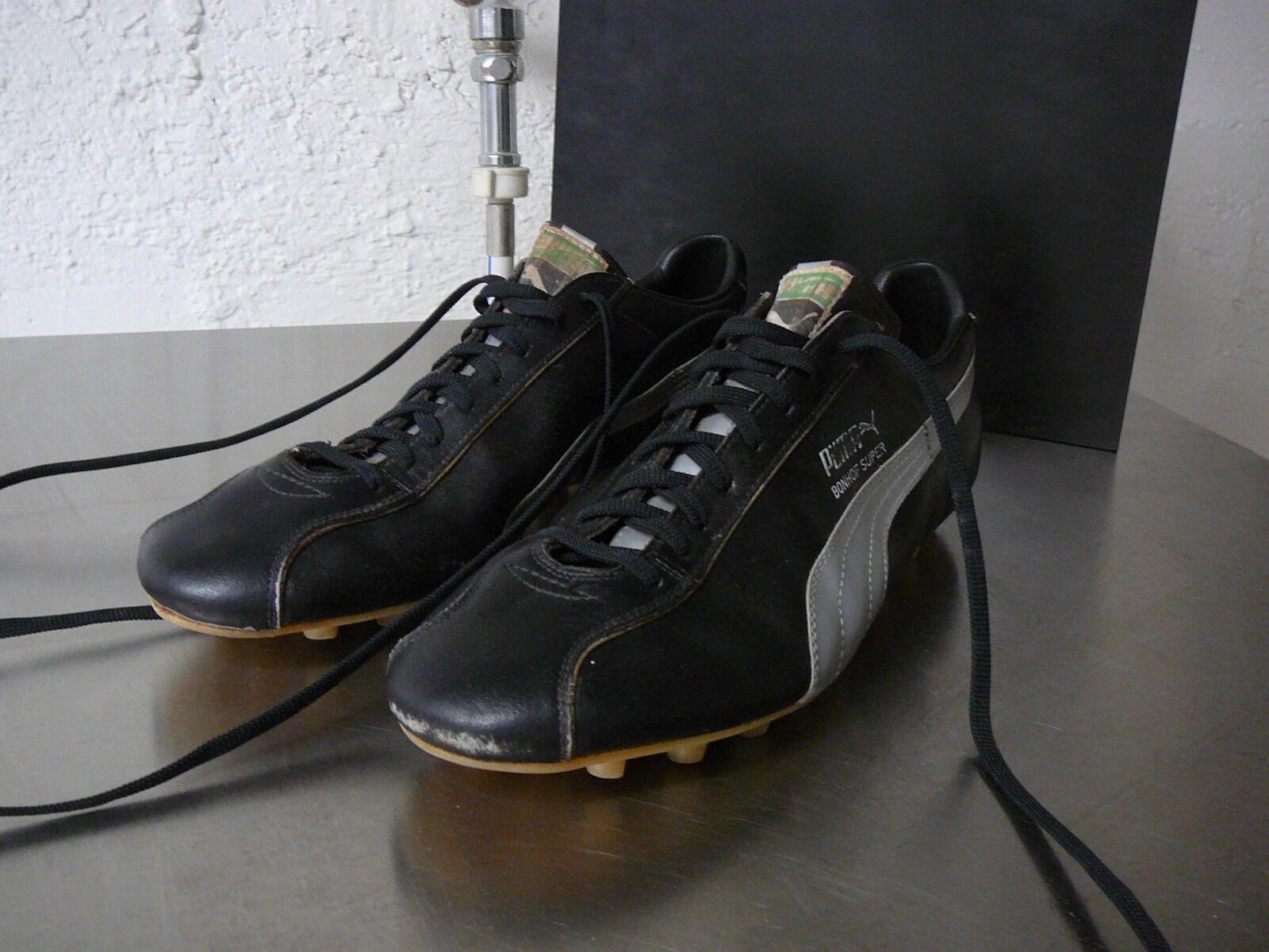 Puma vintage soccer Stiefel Bonhof Super UK 10 70iger  | Die Königin Der Qualität