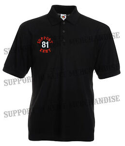 Support 81 kent hells angels england polo work shirt for Work polo shirts embroidered