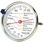 Taylor 5939N Round Dial Stainless Steel 5-1/2
