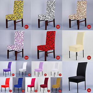 Stretch-Chair-Cover-Seat-Covers-Spandex-Lycra-Washable-Banquet-Wedding-Party-dv