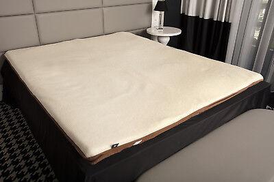 Preiswert Kaufen Merino Schafschurwolle Matratzenauflage Topper Unterbett Visco Schaum Matratze Produkte Werden Ohne EinschräNkungen Verkauft