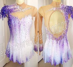 27447acf323d Ice Figure Skating Dress  Rhythmic Gymnastics Costume Twirling Tap ...