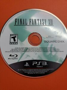 Final Fantasy XIII 8 (Sony PlayStation 3, 2010) Disc Only ~ Tested & Working