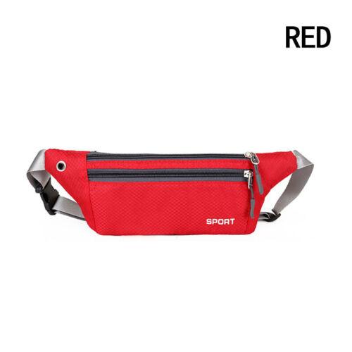 Running Cycling Waist Pouch Bag Fanny Pack Sport Travel Hiking Belt Zip Bum Bag