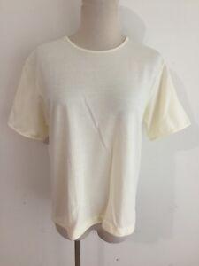 Vince Camuto Womens Ivory Embellished Crewneck Tee T-Shirt Top XXS BHFO 7692