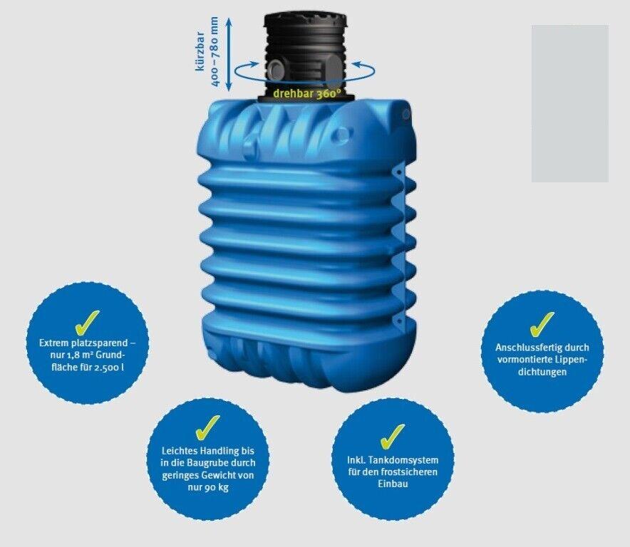 Wasserzisterne Wasserspeicher mit hoher Kapazität Flexibler Wassertank