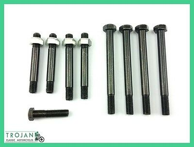 CYLINDER HEAD BOLT SET, BSA, UNIT TWINS, A50, A65, 1968-1970, ENG0192