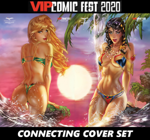 SOLD-OUT-GRIMM-FAIRY-TALES-39-amp-ROBYN-HOOD-JUSTICE-1-VIP-CONNECTING-SET