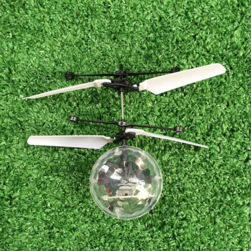E348 1Pc Hot Children/'s Ball RC Flying Ball Induction Aircraft Light Toy Shine G