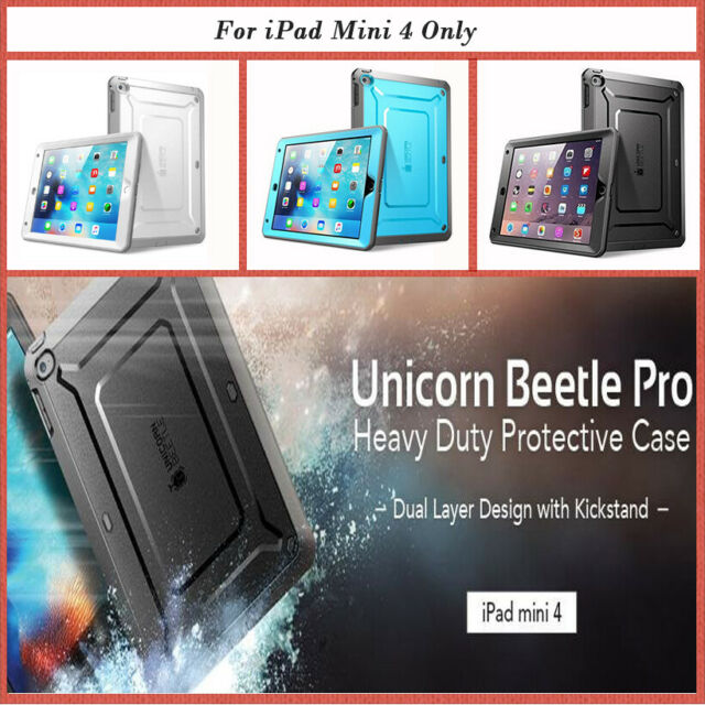purchase cheap 6a36e 3a59b I-blason SUPCASE iPad Mini 4 Case Heavy Duty Unicorn Beetle Pro Ser 2day  Ship