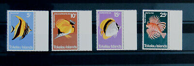 Genereus Fsh102 Tokelau Fish (mnh) Set