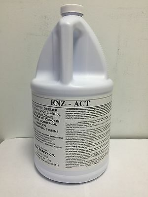 Enz-act Grease Trap Drain Liquid Cleaner
