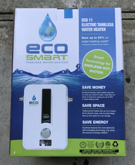 new ecosmart green energy eco 11 11kw electric tankless. Black Bedroom Furniture Sets. Home Design Ideas
