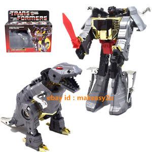 Transformers-G1-Dinobot-Grimlock-Dinosaur-Reissue-Figure-5-5-034-Toy-New-in-Box