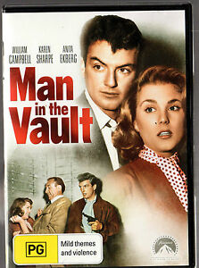 MAN-IN-THE-VAULT-DVD-William-Campbell-Karen-Sharpe-LIKE-NEW-FREE-POST