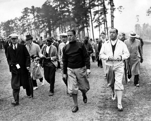 1934 Pro Golfers WALTER HAGEN & BOBBY JONES Glossy 8x10 Golf Photo Print Poster