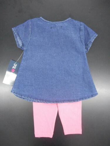 Dress Top /& Leggings 2pc 6//9Mt Set Sz 3//6Mt Infant Girls Limited Too $30 S.S