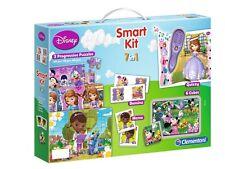 Disney Smart Kit 7in1 Puzzle Domino Memo Quizzy Cubes Mini Mouse Princess Sophia