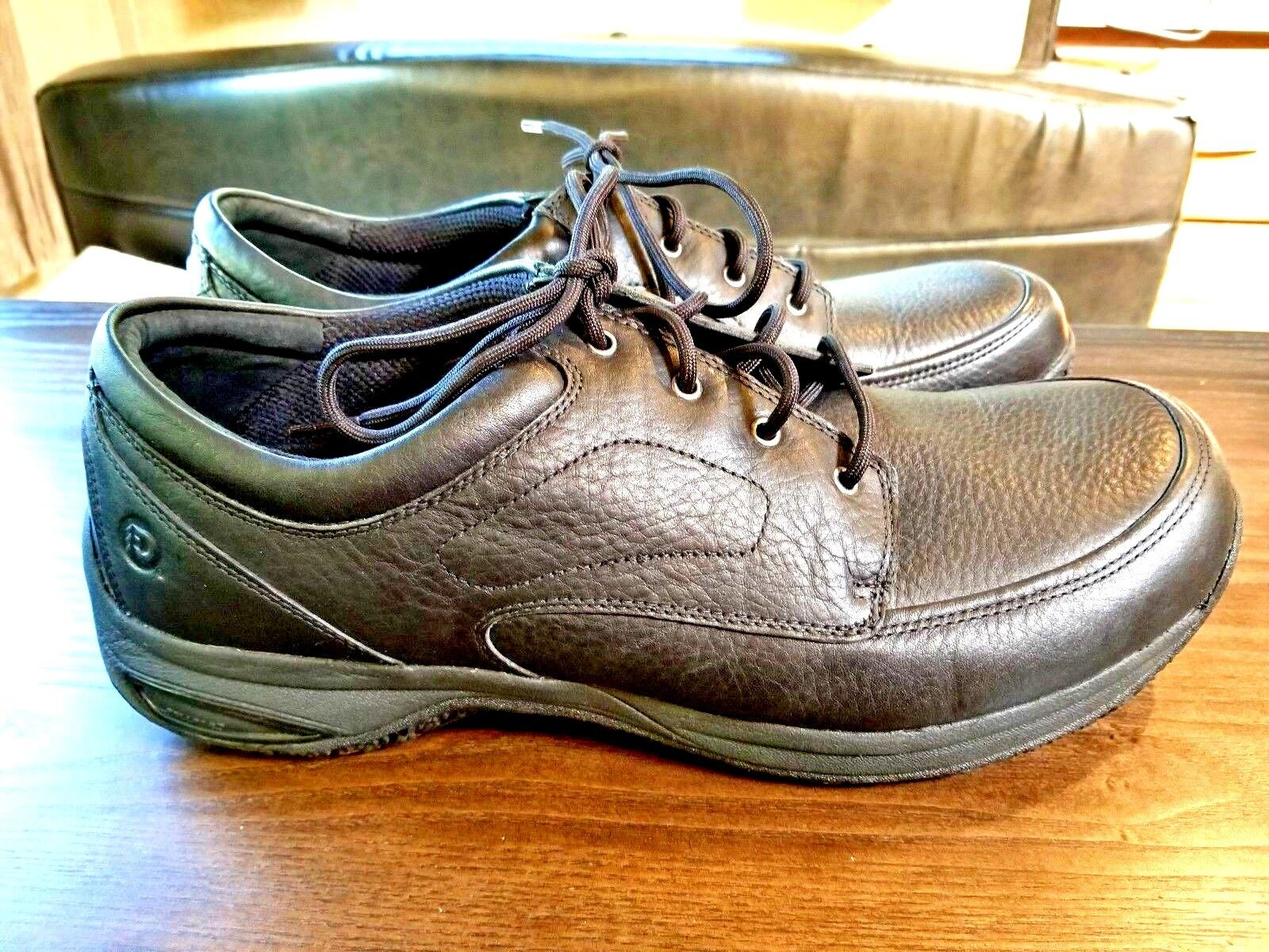 3b9542632 Dunham Leather Industrial Size 16 2E Black Work Work Work shoes NWOT 8c139d
