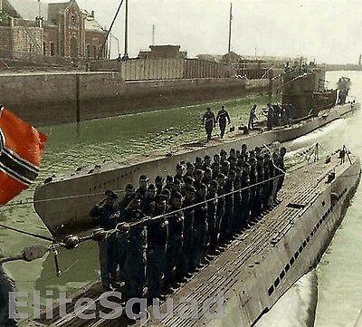 WW2 Photo U-575 Type VIIC U-boat of German Kriegsmarine WWII 445
