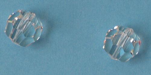 22 cristal perles de verre perle 8m bleikristall au auffädeln environ à facettes Beads