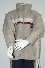 Jacke Kinder dünne Kinderjacke beige Langarm Kapuzenjacke Junge 128 (1512C-2)