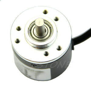 600P/R Photoelectric Incremental Rotary Encoder 5V-24V AB Two Phases Shaft 6mm