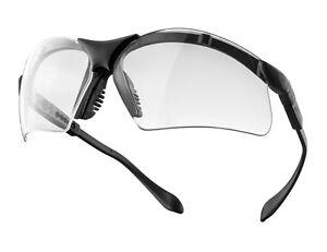 Schutzbrille SKYLINE (#608) mit schwarzen  Bügeln für Labor, Werkstatt und Hobby