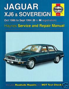 Jaguar XJ40 /& Daimler 2.9 3.2 /& 4.0 Litre 1986-1994  Factory Workshop Manual