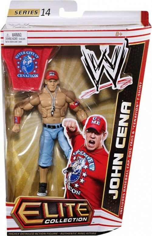 WWE Wrestling Elite Series 14 John Cena Action Figure