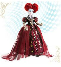 Disney Store Alice through looking glass Movie QUEEN OF HEARTS Doll 12 inch