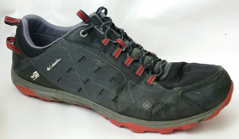 Columbia Conspiracy Razor Outdry 2539 Mens 11.5 M Shoe Black Trail Sport Sneaker