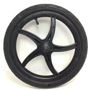 Baby-Trend-16-034-Rear-Left-Jogger-Wheel-Black-Plastic-1-75-Tire-Stroller-E91