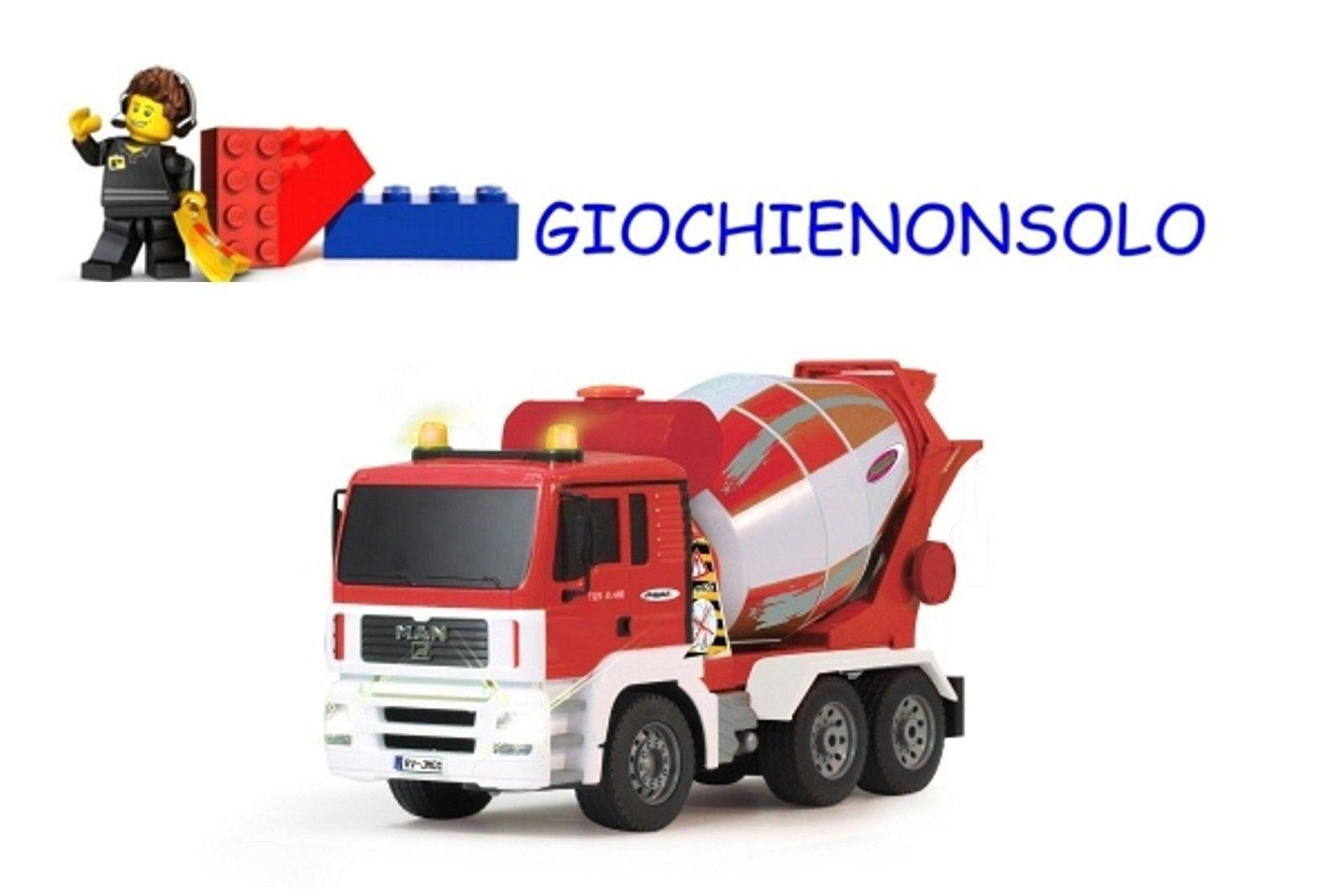 JAMARA  403706 - Camion uomo Betoniera 1 16  prezzo all'ingrosso e qualità affidabile