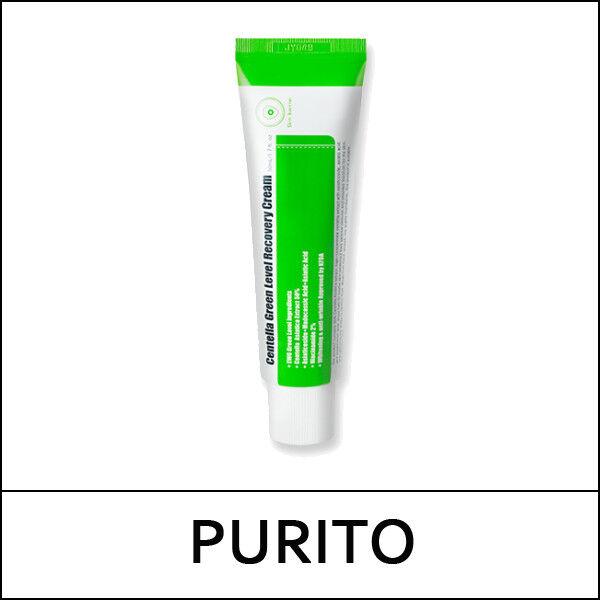 [PURITO] Centella Green Level Recovery Cream 50ml / Sweet Korea Cosmetic / (V둘)
