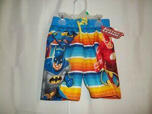 829b1705ed Justice League Boys Swim/Board Shorts-4-The Flash-Batman-Superman ...