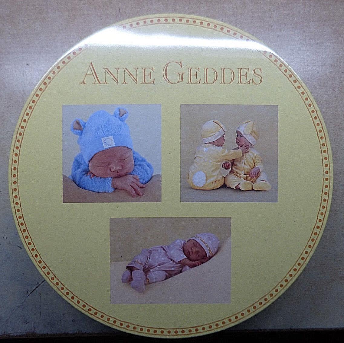 13267. Puzzle-Set, Anne Geddes, Babys, Tin Box, 3 x 1000 Teile Puzzle
