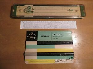 vintage faber-castell 2/82 duplex slide rule in case with instructions germany   ebay