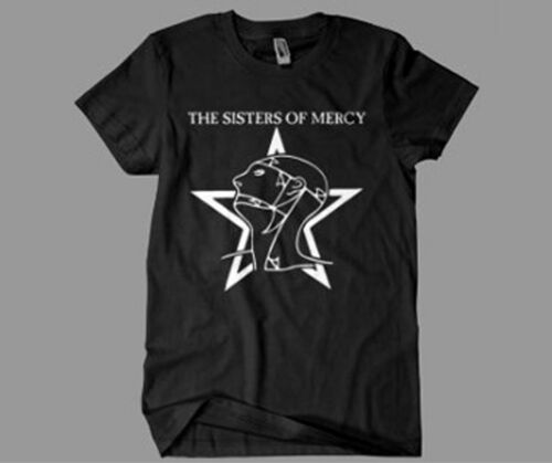 Sisters of Mercy T-Shirt SCREEN PRINTED The Worlds End Simon Pegg Retro 80s
