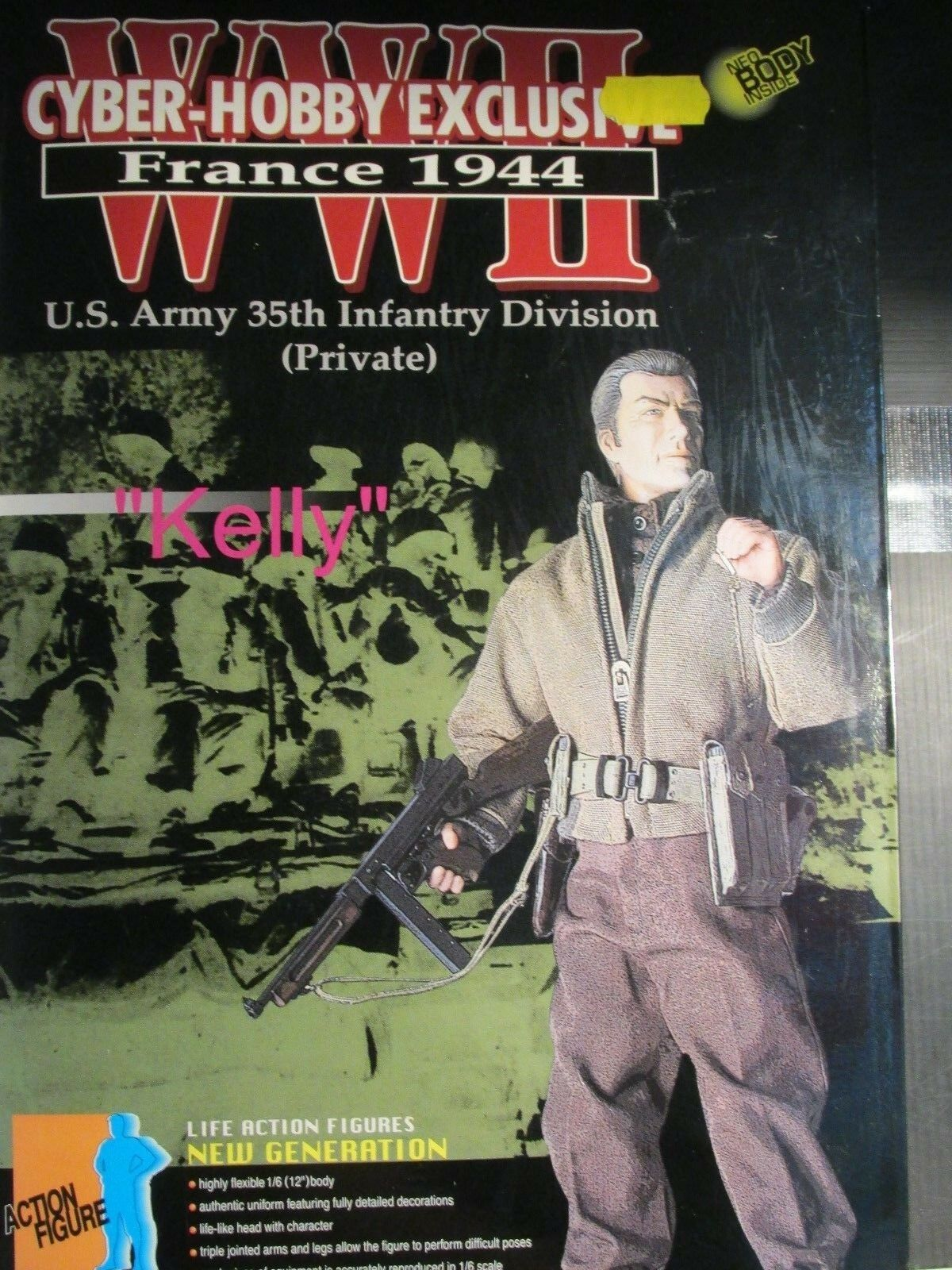 Dragon Cyber-Hobby Exclusive WW11  FRANCE 1944   KELLY