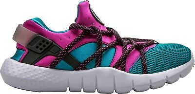 huge selection of 78352 5a7b6 Nike Huarache NM Men s Running Shoes Emerald Green Purple Fuschia 705159-305    eBay