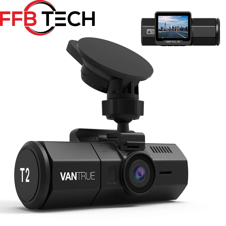 s-l1600 Vantrue T2 Surveillance Super Capacitor Dash Cam 1080P, Night Vision, OBD Hardw.